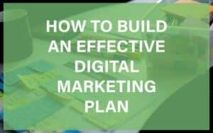 Create a digital marketing plan featured