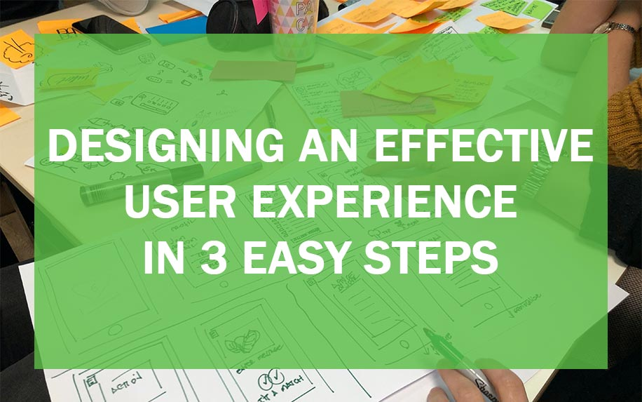 Designing an effective user experience header image