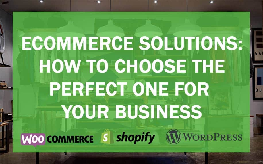 Ecommerce solutions guide