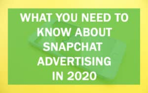 Snapchat Advertising header image