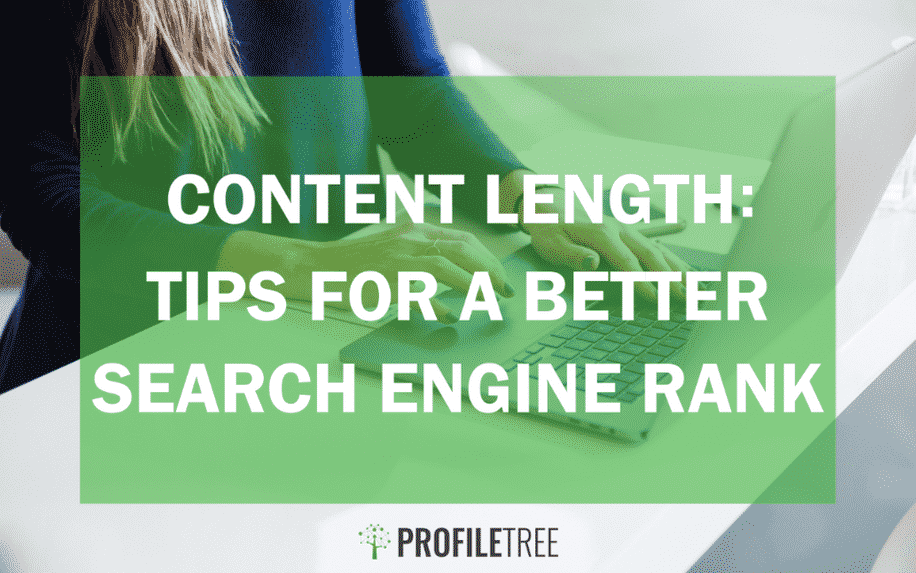 Content length: tips for a better search engine rank