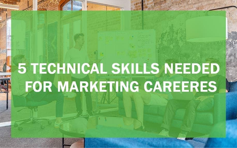 Technical marketing skills header