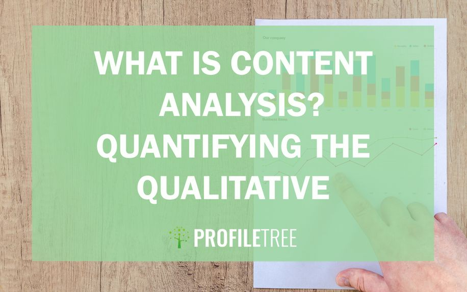 What is content analysis