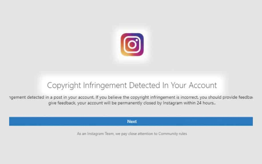Using copyrighted images on Instagram