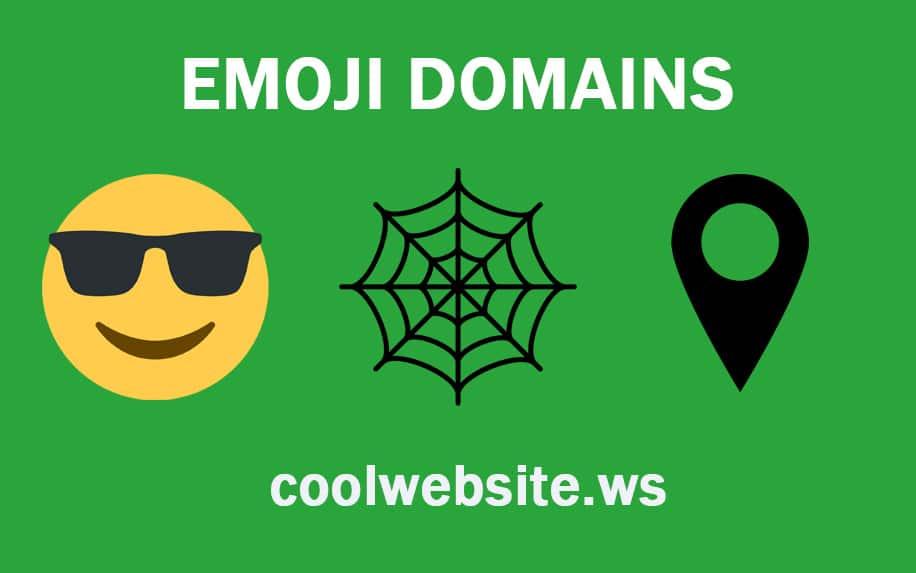 Emoji domains graphic
