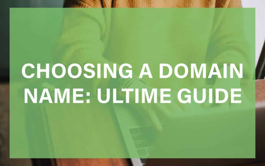 Choosing a domain name featured image