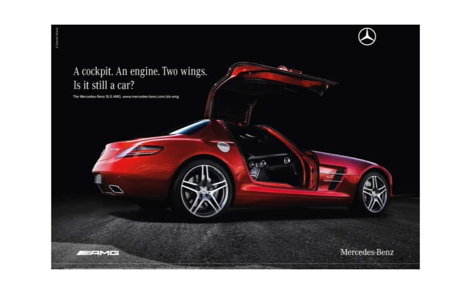 Hierarchy of needs marketing mercedes example ad