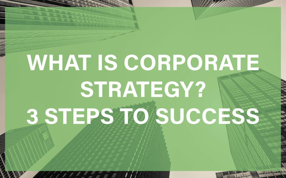 What is corporate strategy featured image