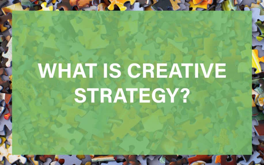 What is creative strategy featured image