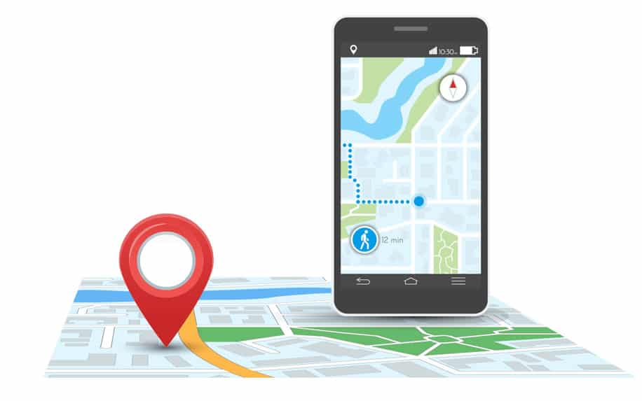 google maps navigation used to find businesses