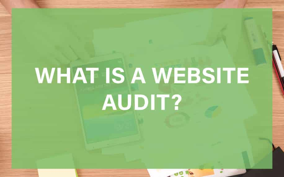 What is a website audit featured image