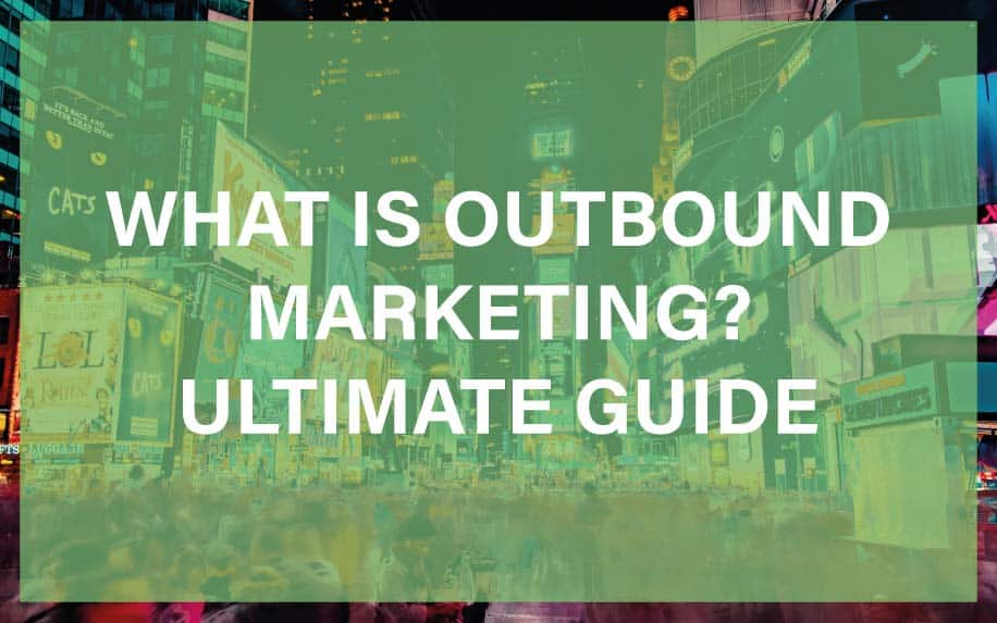 What is outbound marketing featured image