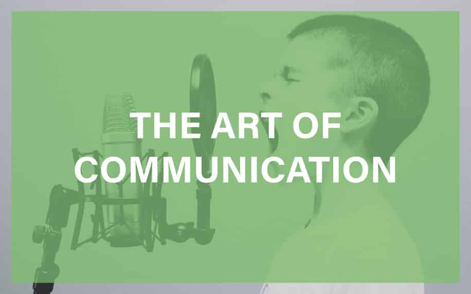 The art of communication featured