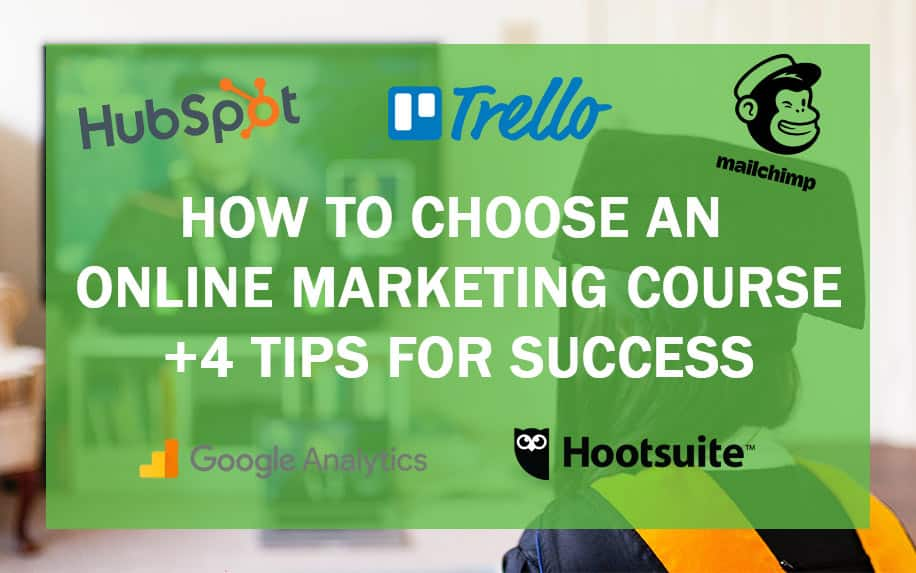 Online marketing courses header