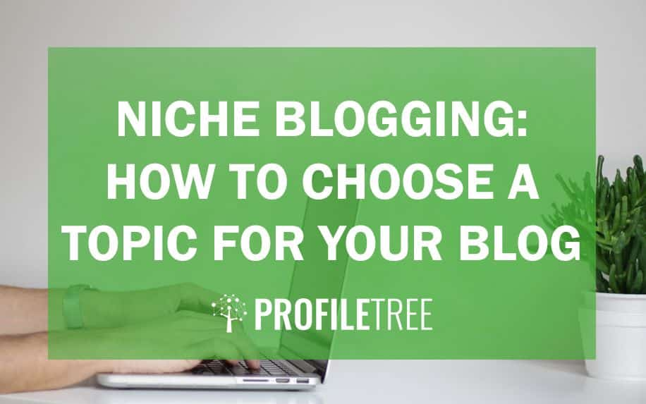 niche blogging how to choose a topic for your blog