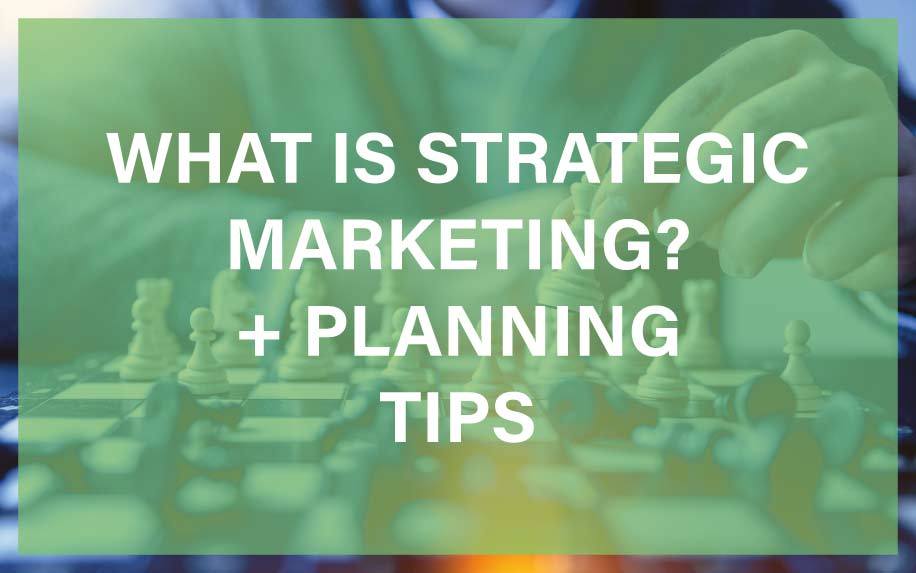 What is strategic marketing featured image