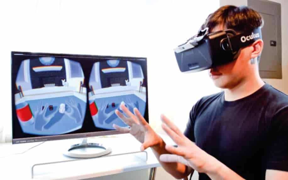 Oculus Rift Augmented Reality