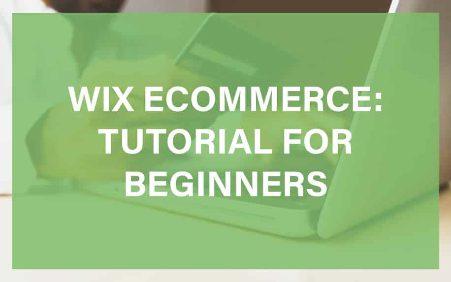 WIX Ecommerce Featured Image
