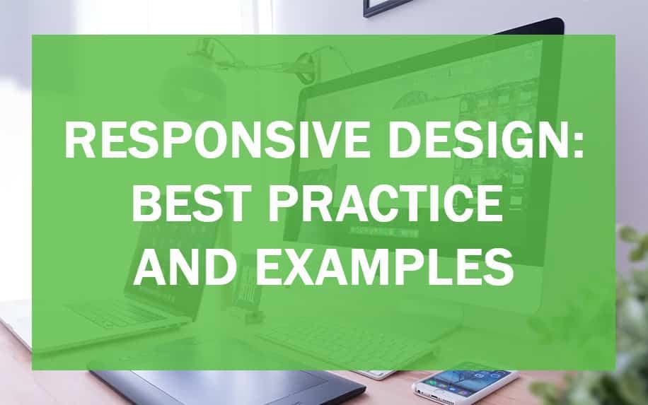 Responsive design header