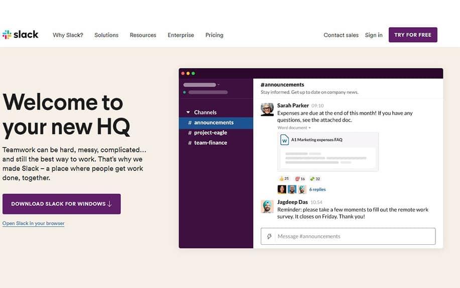 Slack Desktop screenshot