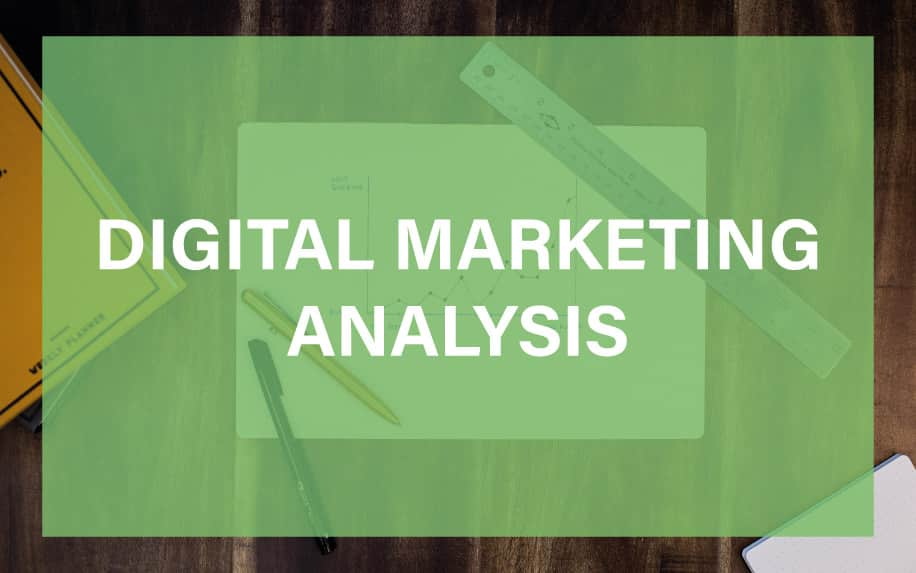 Digital marketing analysis featured image.
