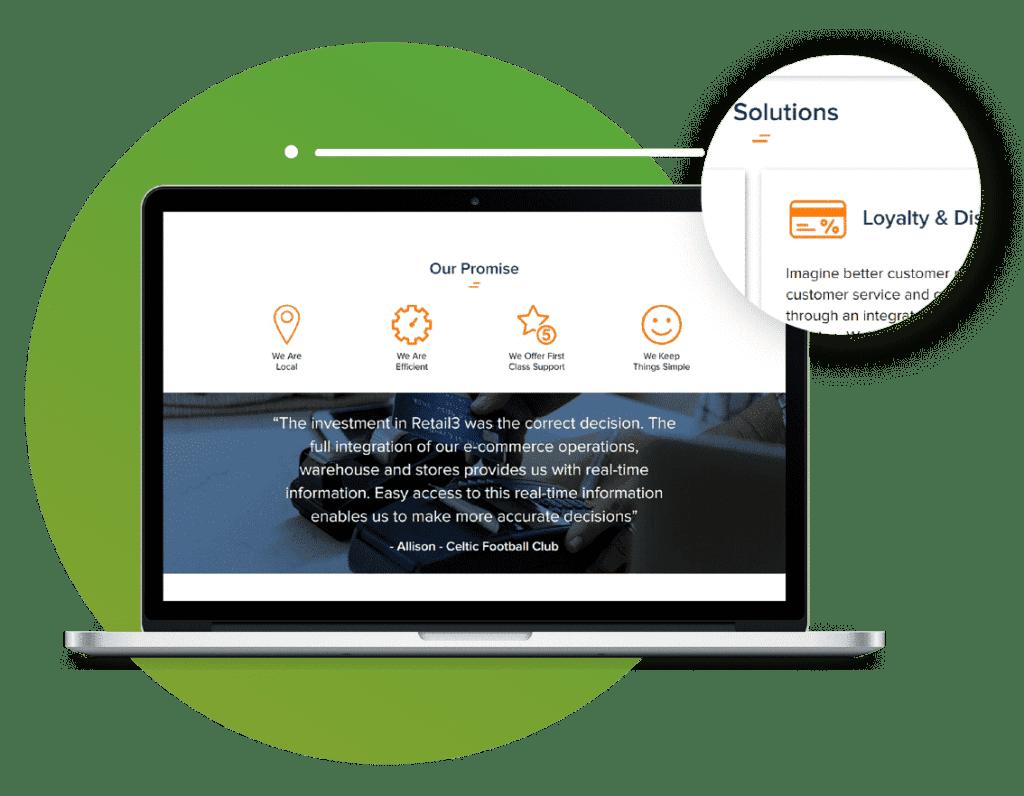 ProfileTree web design agency example image