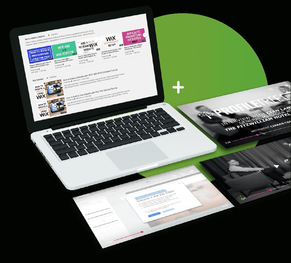 Digital training graphic