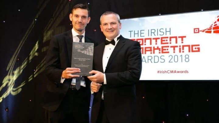 Content Marketing Awards Ireland Video