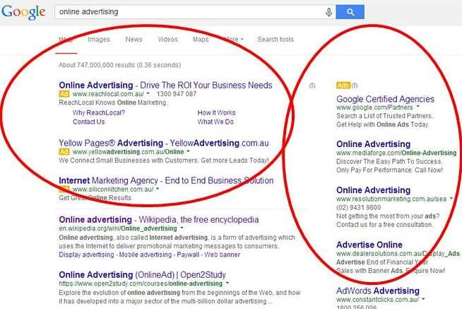 what is online marketing - Display Ads