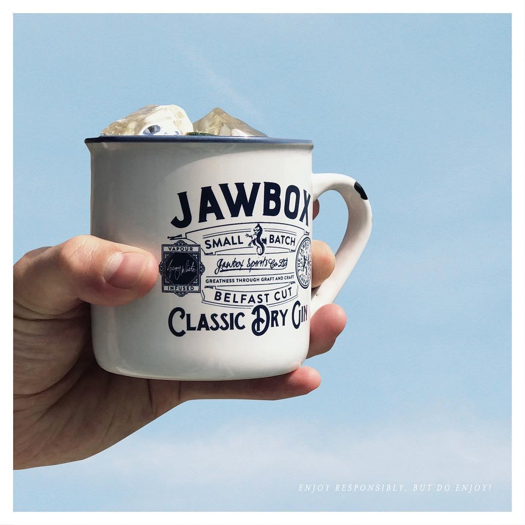 Jawbox Belfast gin image for Company Branding Irish Whiskey blog