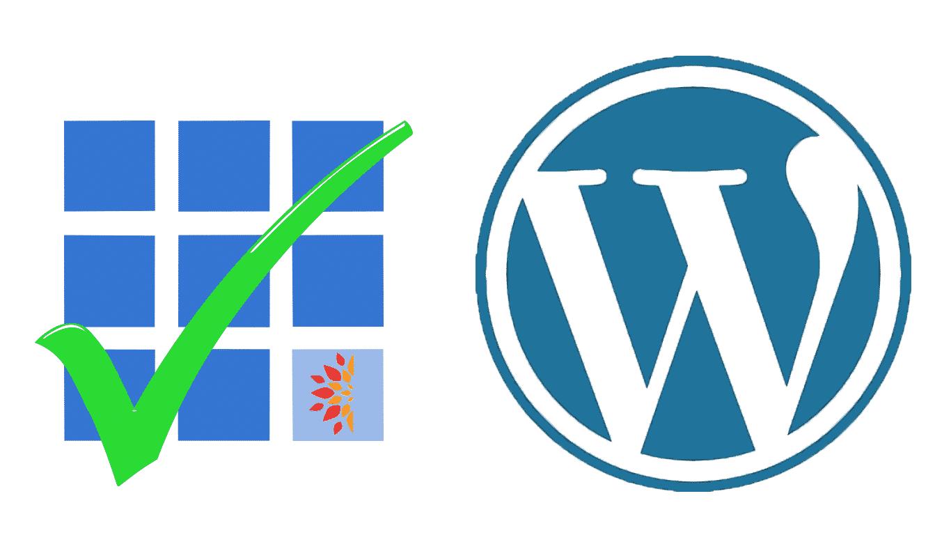 Bluehost tick from WordPress