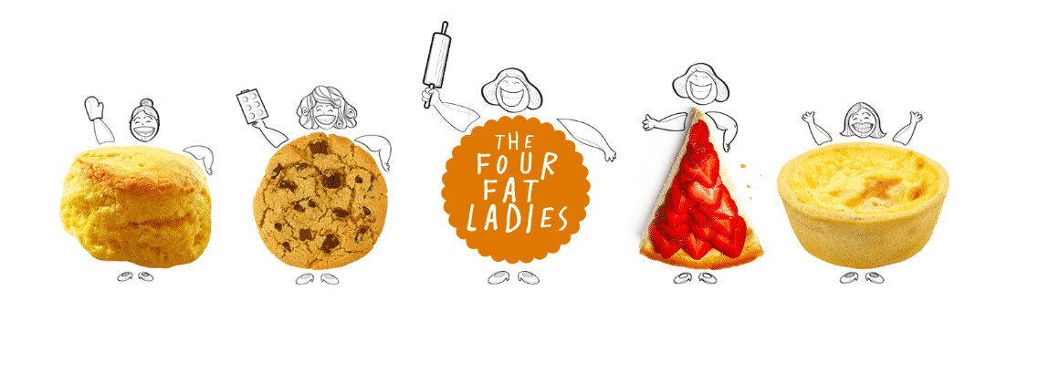 Brand Storytelling Example-The Four Fat Ladies
