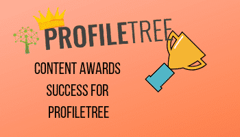 Content Awards Success for ProfileTree
