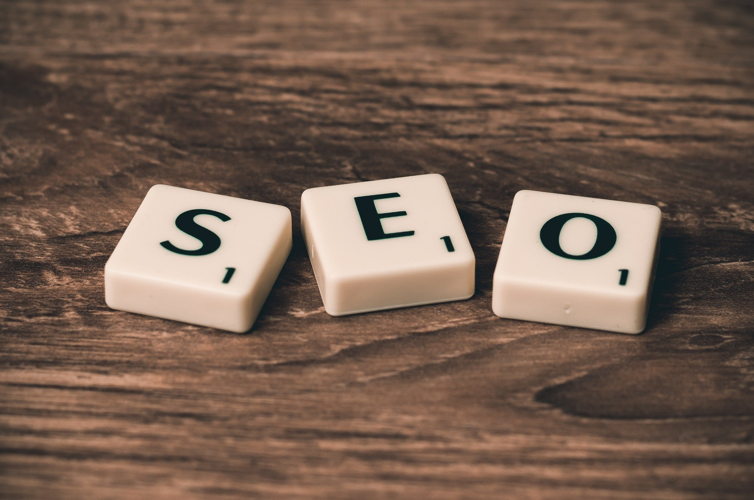 SEO letters image for How to Choose Keywords blog