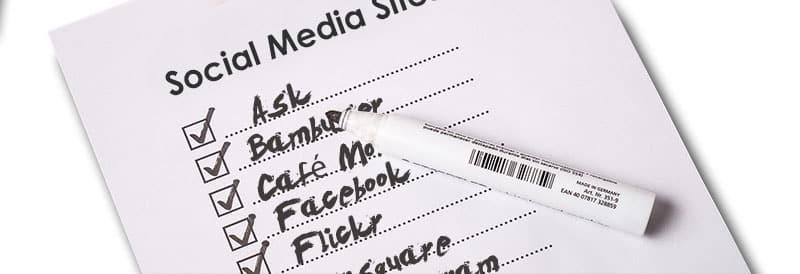 List of Social Media Sites 1