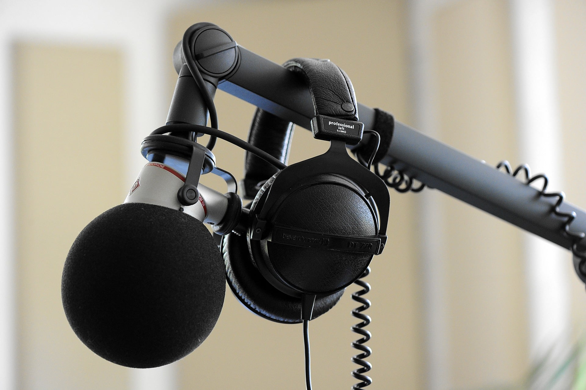 A microphone is the second thing you should invest in.