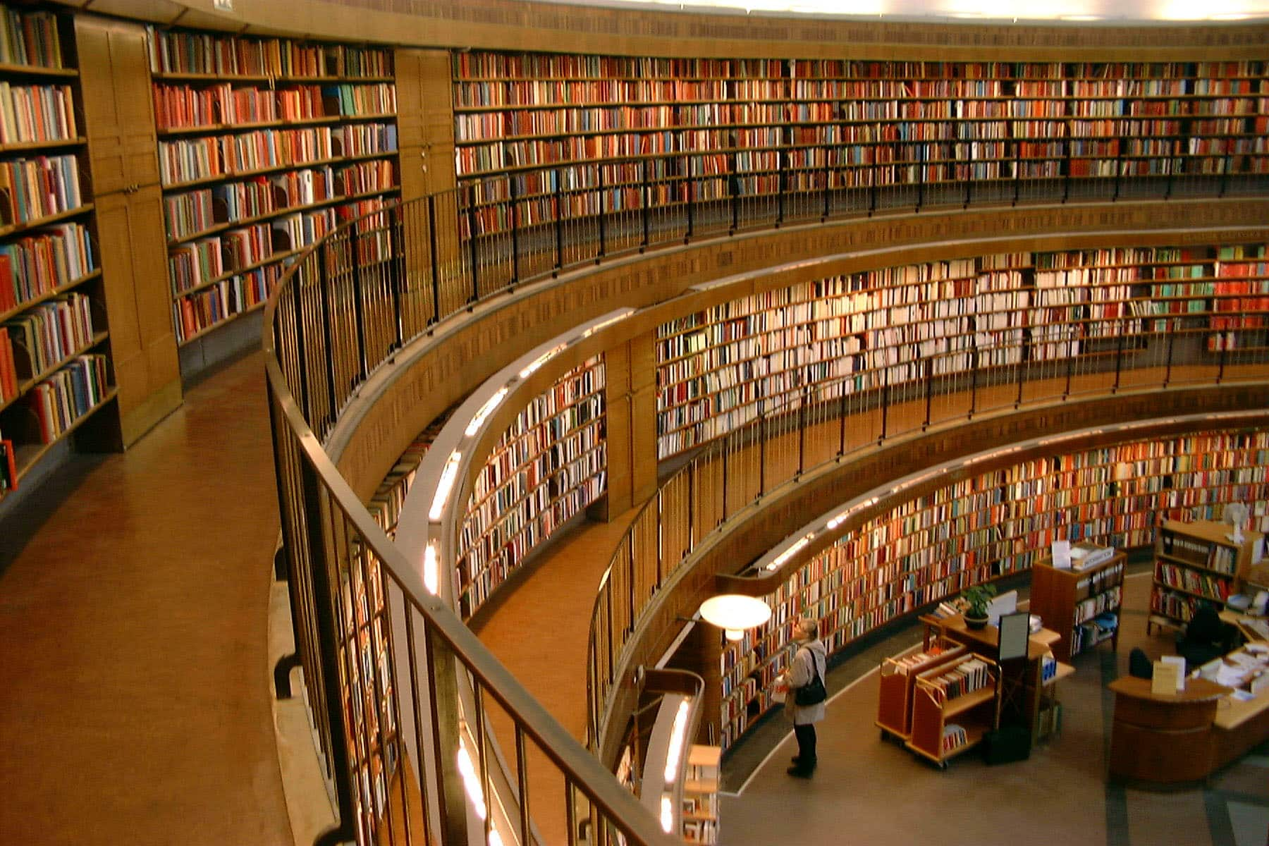Photo of library (re copywriting)
