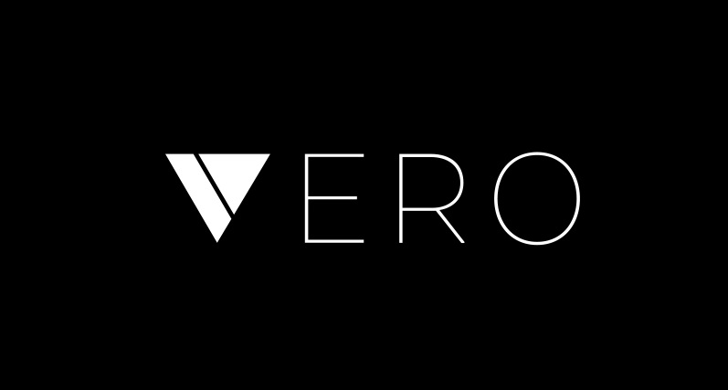 Vero black logo for Vero App blog