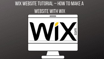 WIX Website Tutorial – How to Make a Website with WIX