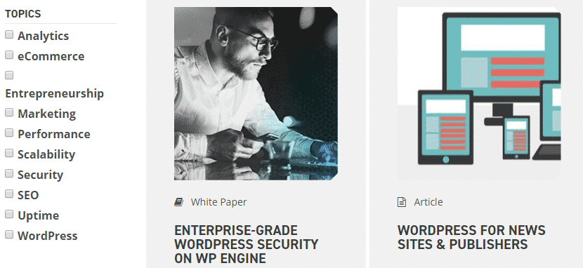 WP Engine Resource Centre