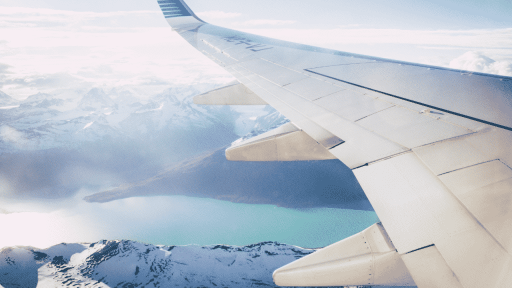 Benefits of Blogging- Travelling in a plane