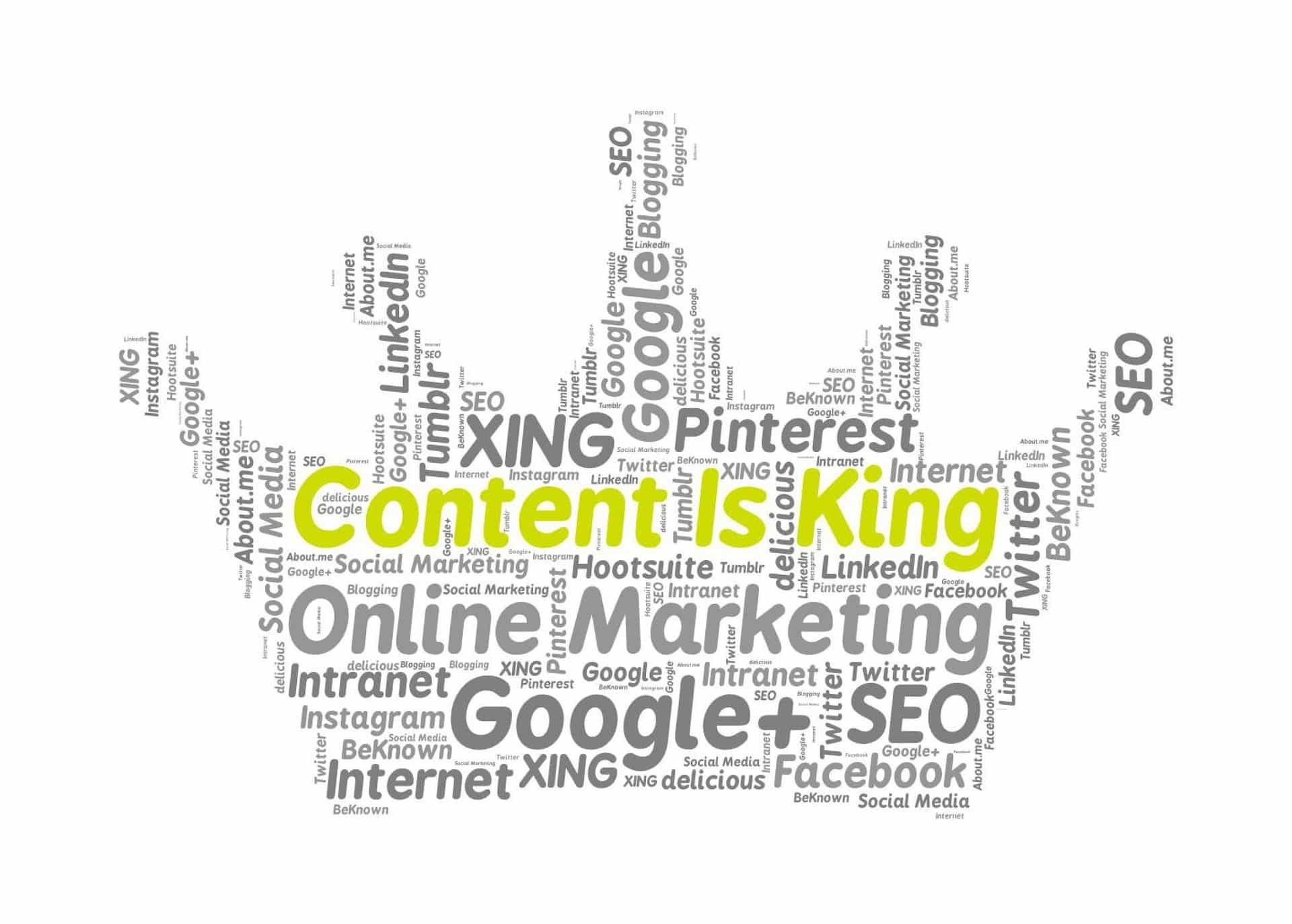 Content- Content is King