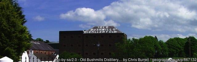 Bushmills whiskey image for company branding blog