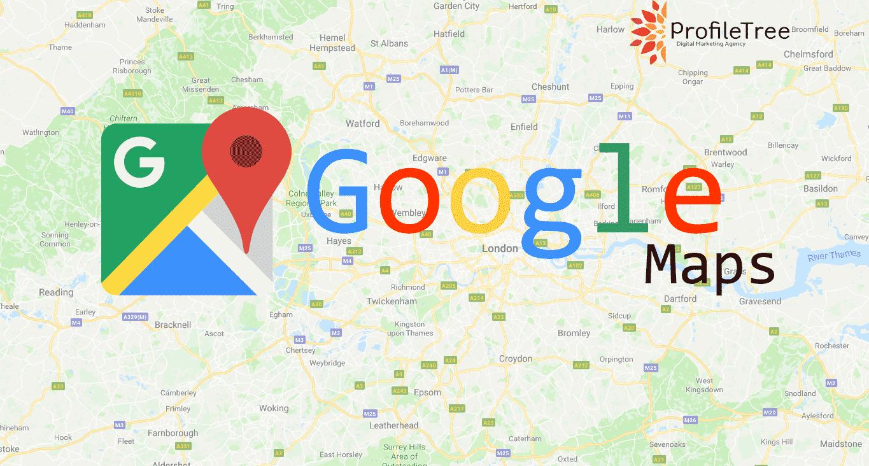 Google Map- Map of England/London
