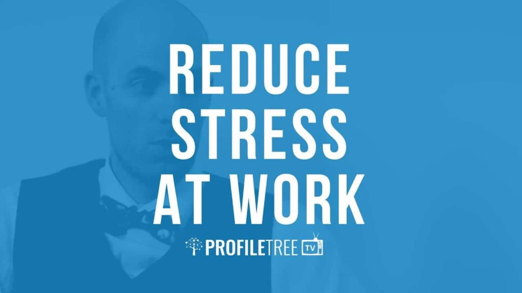 Reduce stress at work with Liam O'Neil