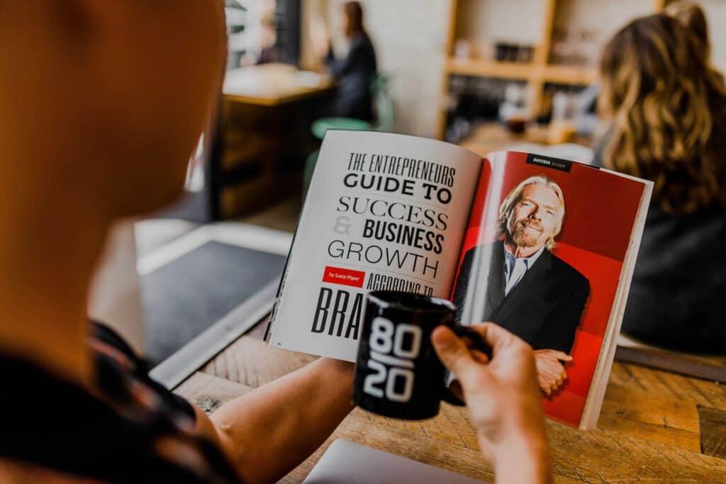 personal branding- business branding - richard branson book-www.distel.co