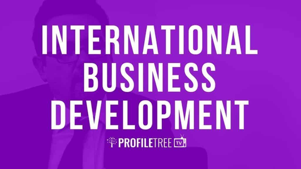 International Business Development with Robert Conlon