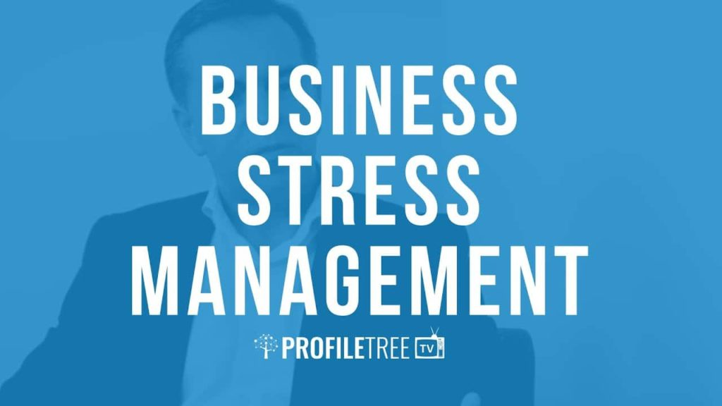 Business Stress Management with Sean Connolly