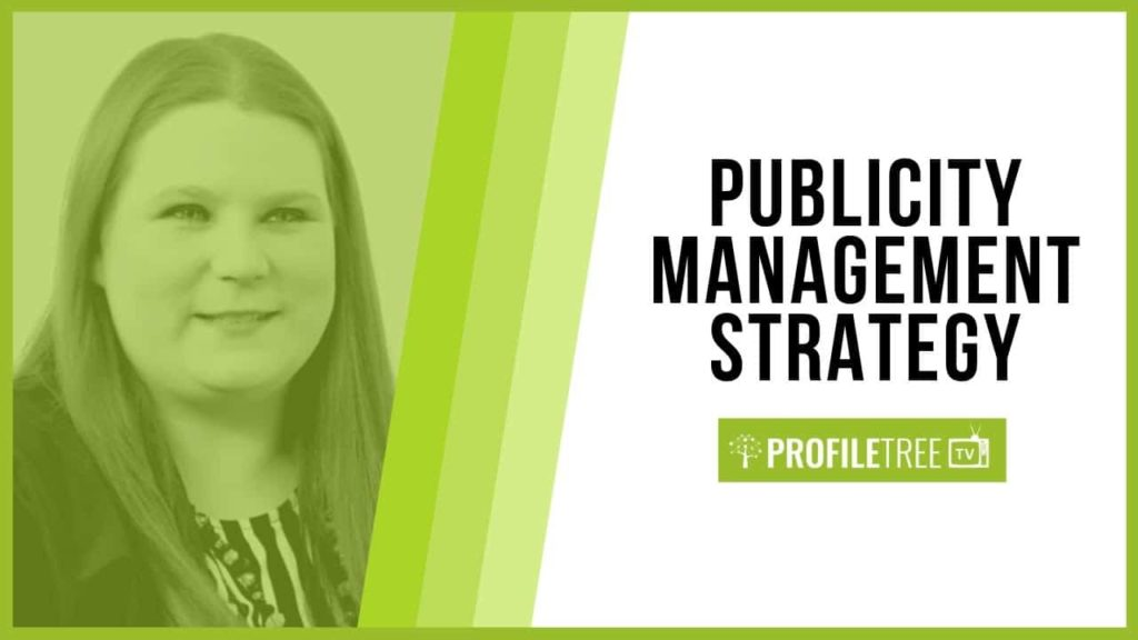 Publicity Management Strategy with Tina Calder