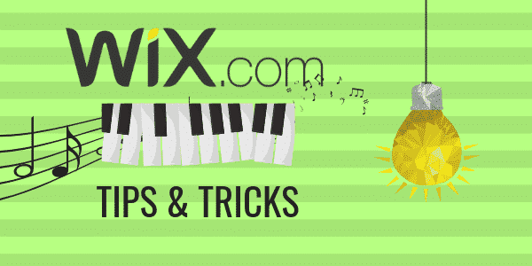 Tips and tricks for Music on WIX